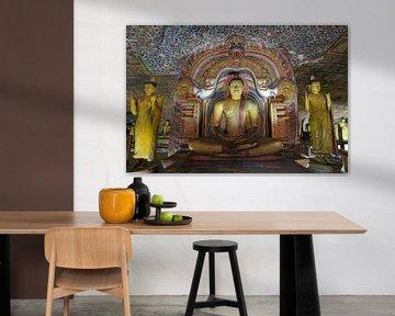 Boedhha in de gouden rotstempel van Dambulla sur Antwan Janssen
