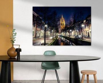 Delft | Oude Kerk en Oude van Ricardo Bouman