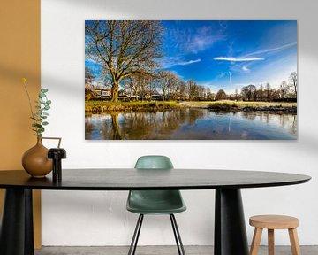 Bevroren Koningspark in Raamsdonksveer sur Thomas van der Willik