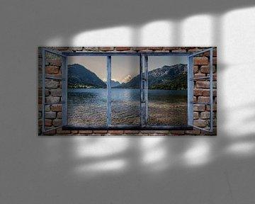 Fensterblick - Grundlsee von Christine Nöhmeier