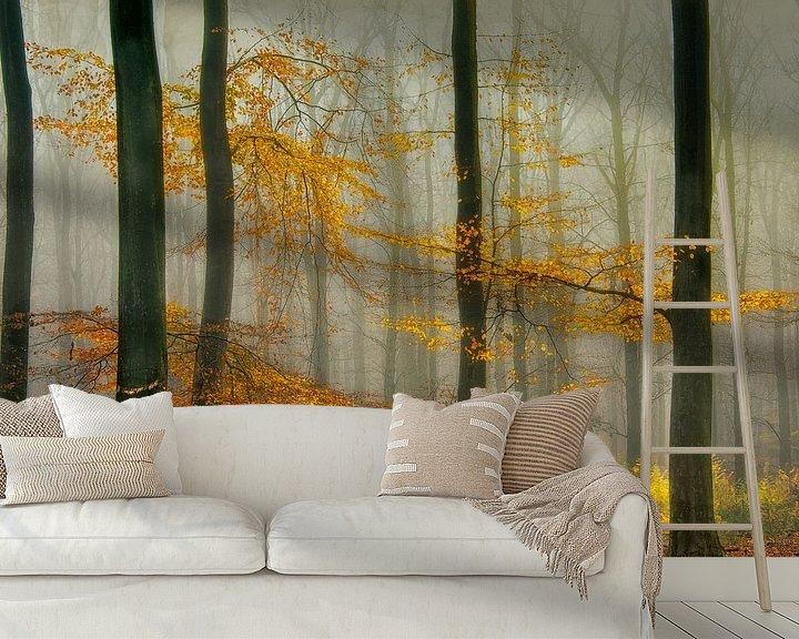 Sfeerimpressie behang: Herfst van Piet Haaksma