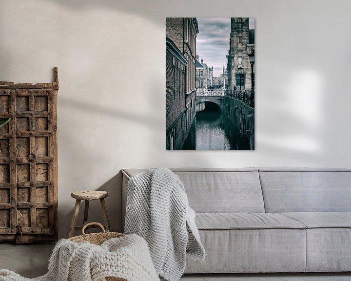 Sfeerimpressie: De Drift in Utrecht met zijn vele bruggen. (2) van De Utrechtse Grachten