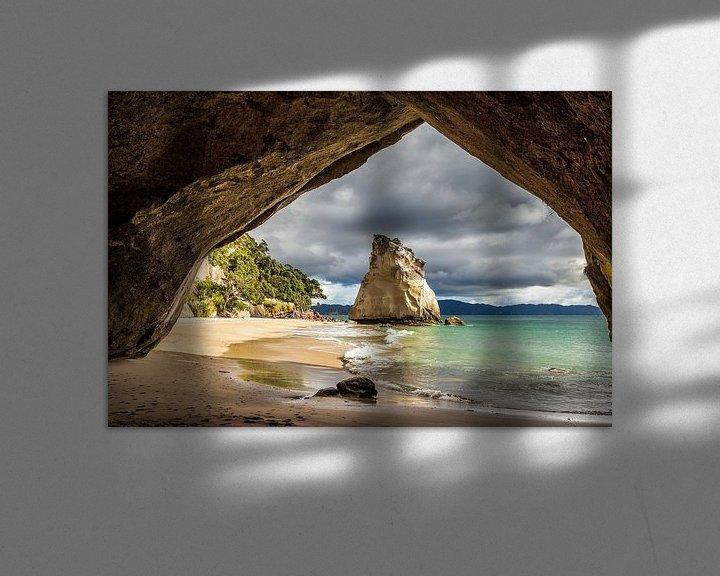Sfeerimpressie: Cathedral Cove van Thomas Klinder