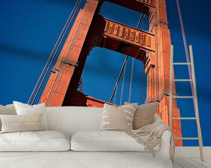 Beispiel fototapete: San Francisco - Golden Gate Bridge von Blijvanreizen.nl Webshop