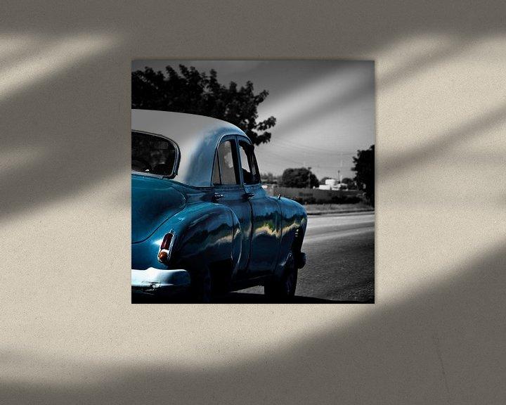 Beispiel: Old American in Cuba von Blijvanreizen.nl Webshop