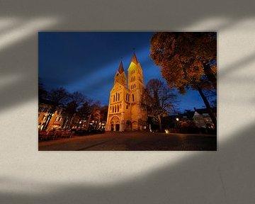 Munsterkerk aan Munsterplein in Roermond sur Merijn van der Vliet