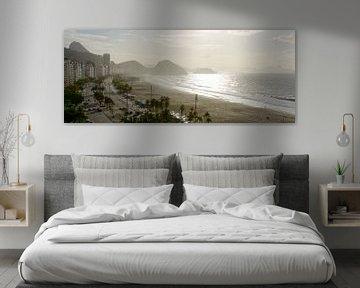 Vue panoramique, Copacabana - Rio de Janeiro sur Dirk-Jan Steehouwer