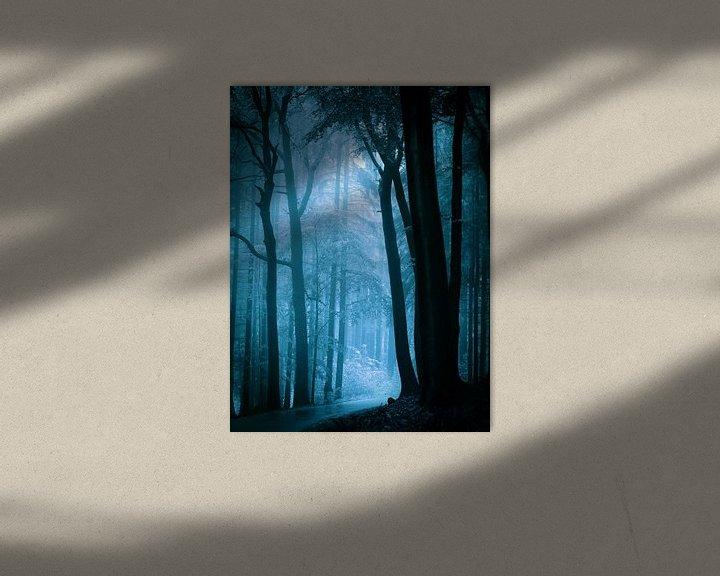 Sfeerimpressie: Naar het licht - blauw van Mark Scheper