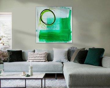 Groene O von Rob van Heertum