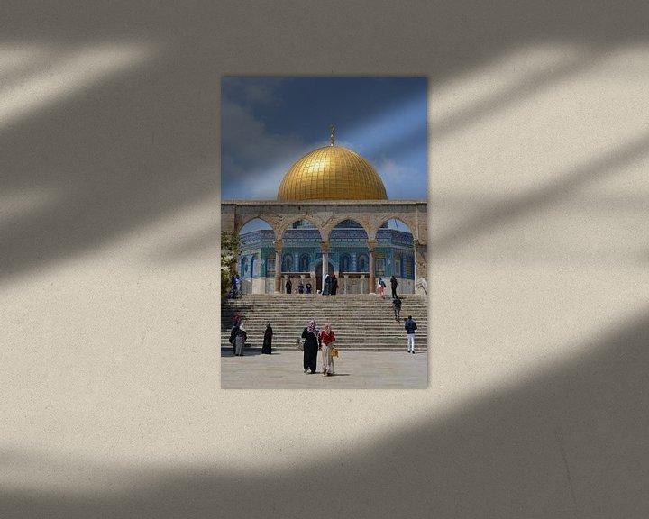 Beispiel: Dome of the Rock 1 von Gerben van den Hazel