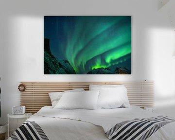 Prachtig Noorderlicht in Noorwegen van Koen Hoekemeijer