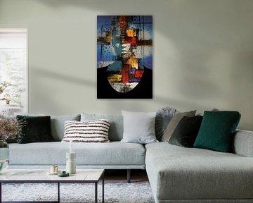 Abstract Look van Harry Hadders