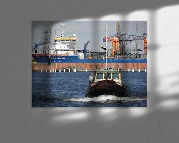 Amsterdamse haven, de Vox Maxima van Philip Nijman