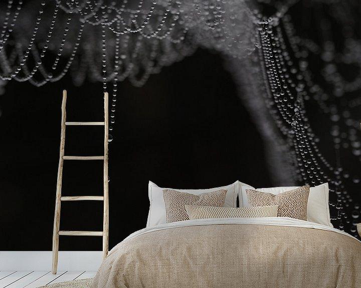 Beispiel fototapete: Hangende parelketting von Astrid Brouwers