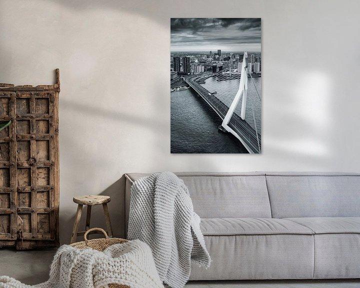 Beispiel: Rotterdam City von Rob van der Teen