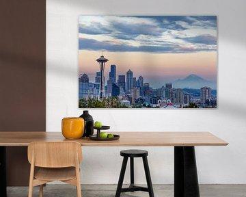 Seattle Skyline von Thomas Klinder