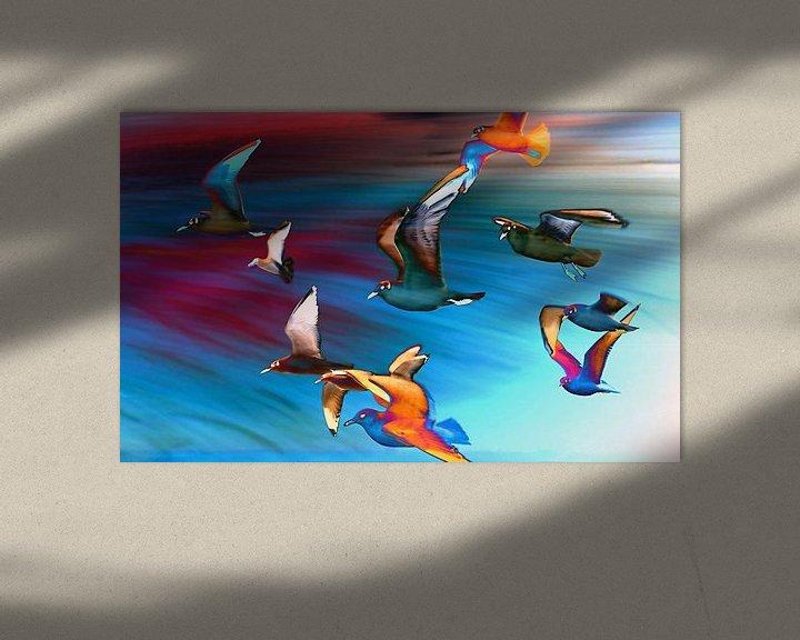 Beispiel: Seagulls von Jacky Gerritsen