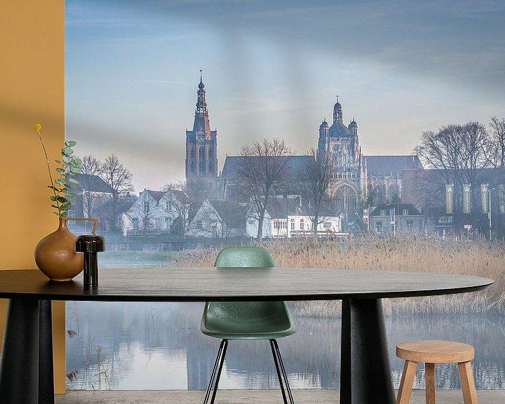 Sfeerimpressie behang: Onze ouwe Sint-Jan van Ingeborg Ruyken