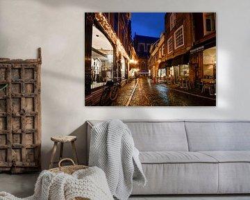 Haarlem - Warmoesstraat von Maarten de Waard