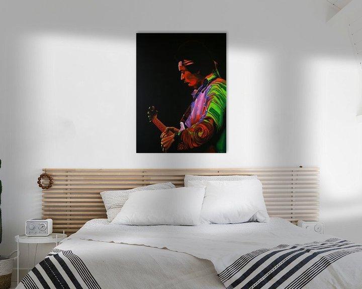 Beispiel: Jimi Hendrix Painting 4 von Paul Meijering