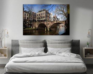 De Gaardbrug gezien vanaf de werf in Utrecht van De Utrechtse Grachten