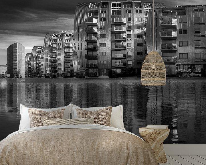 Sfeerimpressie behang: Armada van Ruud Peters