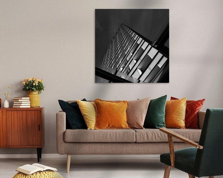 Sfeerimpressie: Zwartwit lijnen van Ruud Peters