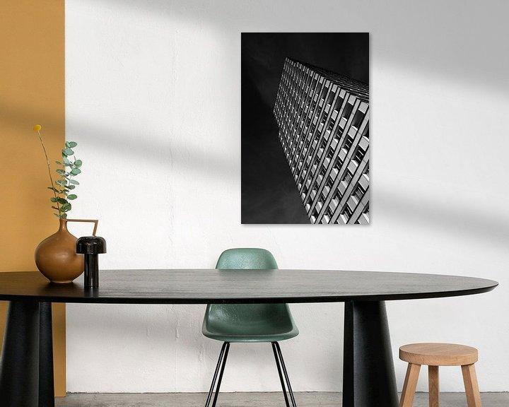 Sfeerimpressie: Zwartwit ramen van Ruud Peters