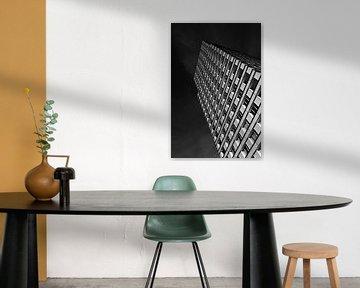 Schwarz-Weiß-Fenstern von Ruud Peters