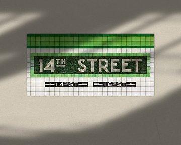 New York Subway 14th Street van Inge van den Brande