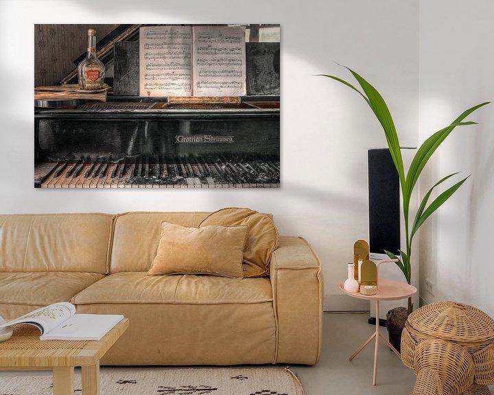 Sfeerimpressie: Verlaten plaats - Piano - stille liefde van Carina Buchspies