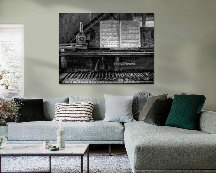 Beispiel: Lost Place - Klavier - stille Liebe von Carina Buchspies