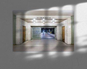 New  York Subway Tracks 34 & 35 van Inge van den Brande