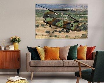 Spaanse Landmacht CH-47 Chinook