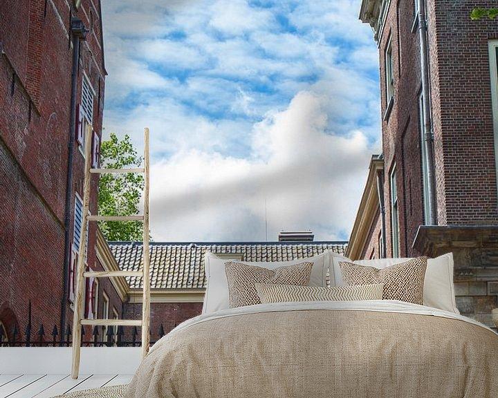 Sfeerimpressie behang: De Hortus Leiden van Leanne lovink
