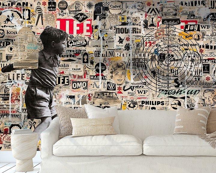Sfeerimpressie behang: TARGET van db Waterman