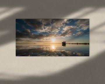 Uitzicht vanaf Durgerdam I van Niels Barto