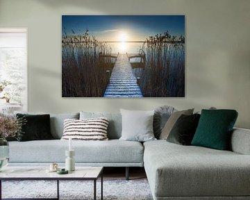 Uitzicht vanaf Durgerdam II van Niels Barto