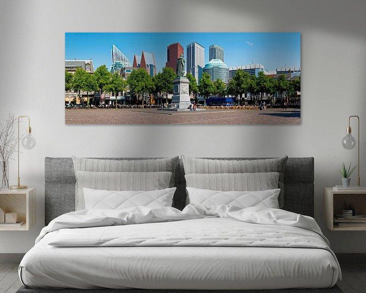 Sfeerimpressie: Panorama Plein Den Haag van Anton de Zeeuw