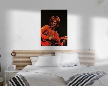 John Lennon Malerei von Paul Meijering