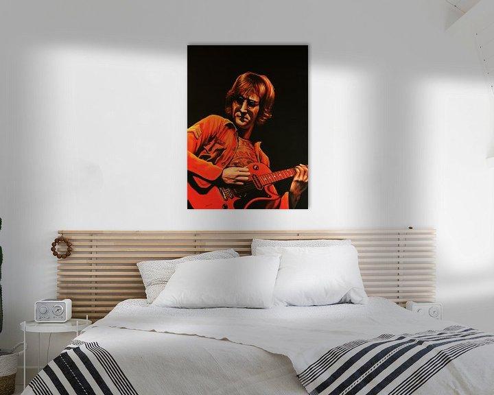 Beispiel: John Lennon Malerei von Paul Meijering
