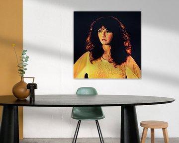 Kate Bush Schilderij von Paul Meijering
