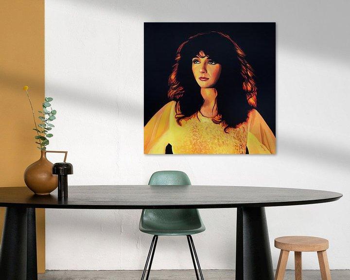 Beispiel: Kate Bush Painting von Paul Meijering
