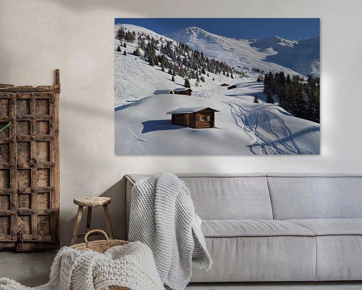 Impression: Eerste sporen in de sneeuw sur Suzan (Suus) Buskes