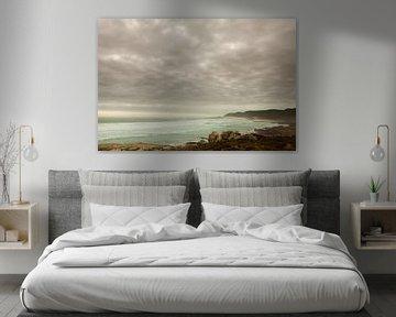 Kustlandschap vlakbij Kaap de Goede Hoop van Simone Janssen