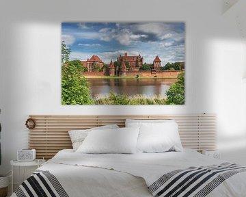 Ordensburg Marienburg, Polen  von Gunter Kirsch