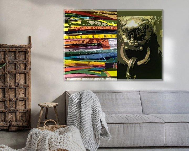 Sfeerimpressie: China fantasie van Wilfried van Dokkumburg