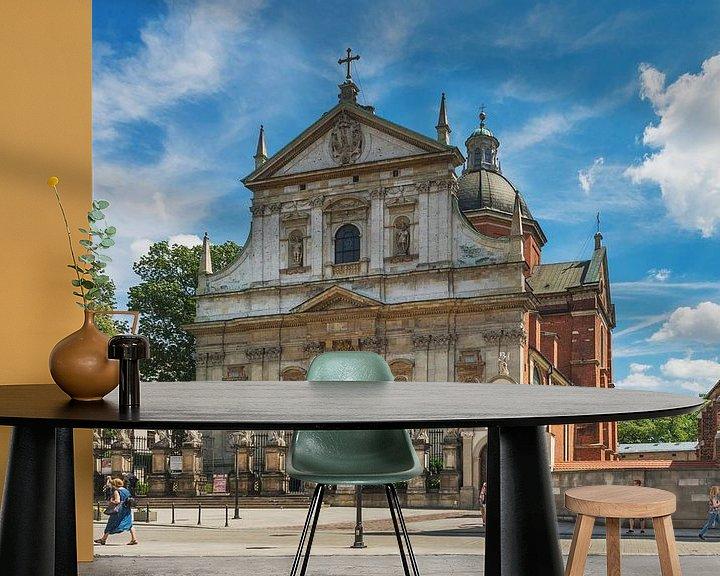 Sfeerimpressie behang: Cracow, Poland van Gunter Kirsch