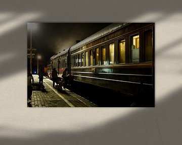 Transsiberië-express van Studio Wanderlove