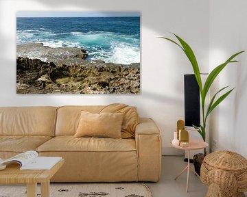 Curacao, ruige kust no. 7 von Arnoud Kunst